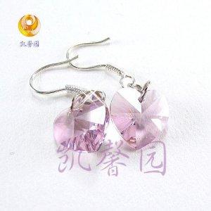 Swarovski Crystal heart shape earring(E-07)