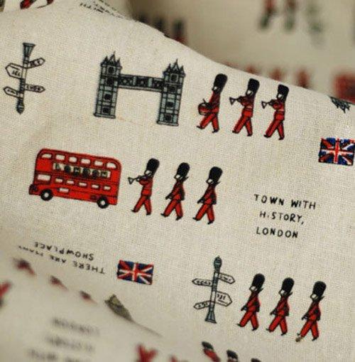 Colorful London March (Fat Quarter Fabric Set)