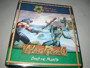 Legend of the Five Rings CCG: Clan Rivals Crab vs. Mantis Card Binder Album
