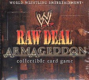 WWE Raw Deal CCG: Armageddon Booster Box