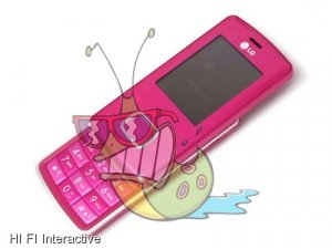 LG KG 800 Chocolate Mobile Phone