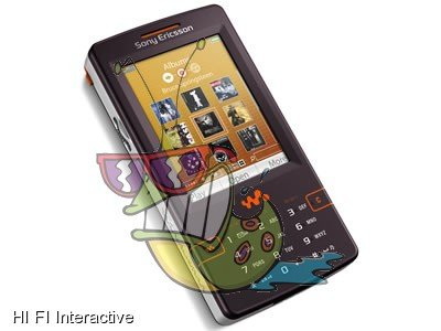 Sony Ericsson - W950i (built-in 4 GB) (mystic purple)