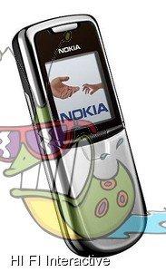 Nokia - 8800 (silver)