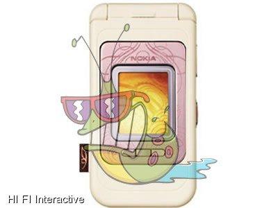 Nokia - 7390 (128 MB) (powder pink)