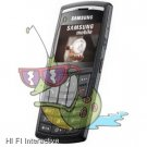 Samsung - X820 (black)