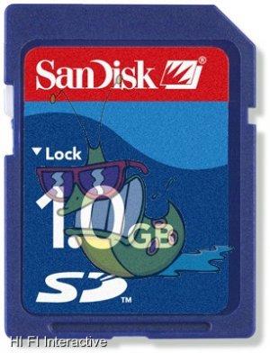 Sandisk - SD 1 GB