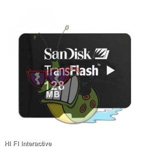 Sandisk - microSD (TransFlash) 128 MB