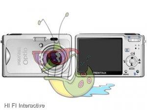 Pentax - Optio S7 (silver)