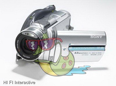 Sony - Handycam DCR-DVD905E (silver)