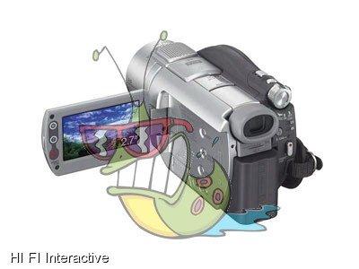 Sony - Handycam DCR-DVD805E (silver)