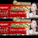 2X Colgate Optic White Platinum Cool Mint Flavor Lasting White Toothpaste 96g