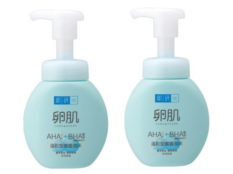 2X Hada Labo Hadalabo AHA BHA Exfoliating Face Wash Foam 160ml
