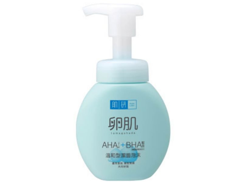 Hada Labo Hadalabo AHA BHA Exfoliating Face Wash Foam 160ml