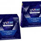 2X USA Crest 3D White Luxe Whitestrips Professional Effects 20 Pouches / Box
