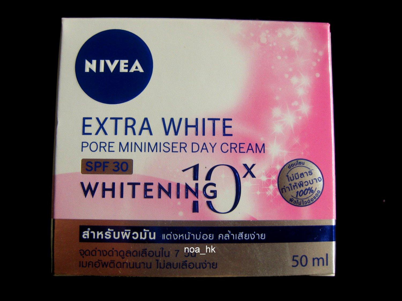 Nivea Extra White Pore Minimiser Day Cream SPF30 50ml