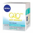 Nivea Q10 Plus Anti Wrinkle Light Day Cream SPF15 50ml Anti Aging & Refines Pore
