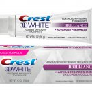Crest 3D White Brilliance Mesmerizing Mint Teeth Whitening Toothpaste 116g