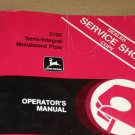 JD John Deere 2700 Integral Mold Plow Operators Manual