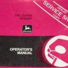 JD John Deere 740 Cotton Stripper Operators Manual