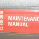 Canadair Challenger CL-600-2A12/2B16 Maintenance Vol 7  PSP601-2  601-3A