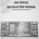 Garmin GPS400/GNC420/GNS430 Installation manual GPS/GNC/GNS 400/420/430
