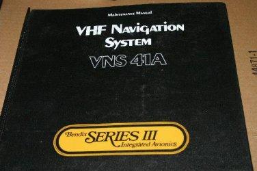 Bendix King VNS-41A VHF NAV System maintenance Manual VND41A 006-05908-0006