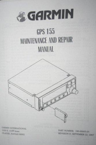 Garmin GPS155 GPS-155 Navigator Maintenance/Repair manual