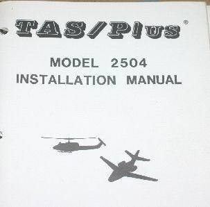 B&D Instruments TAS/PLUS 2504 Installation Manual