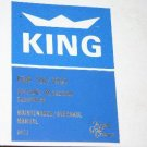 Allied Signal Bendix King KDM-700/700A DME maintenance Overhaul manual KDM700