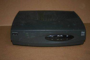 Cisco 1720  w/WIC 1DSU-56k module --no power adapter