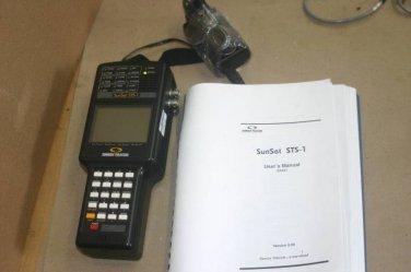 Sunrise Telecom Sunset STS-1 Handheld SONET Test Set for DS3, DS1 BERT