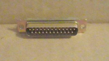Lot of (30) ITT Cannon DBMM25PM 25-Pin D-Subminiature Connectors M24308/24-3