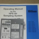Gilian HFS Air Sampling System 113A T/C/P/U Operating Guide Manual