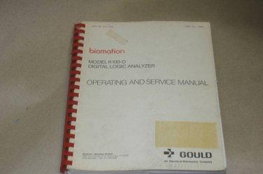 Gould  K450 Logic analyzer Instruction Operating Guide Manual