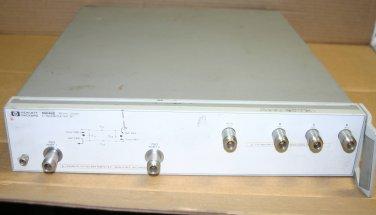 Agilent HP 85046B S-Parameter Test Set, 75 Ohms, 300 kHz - 2 GHz 4 8753 analyzer