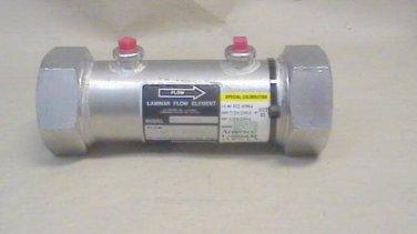 """Meriam 50MW20-2 2"""" Laminar Flow Element used"""
