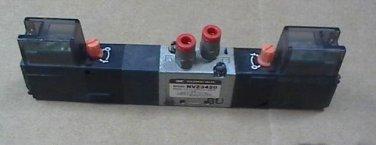 Lot of (10) SMC NVZ3420 24V DC 5 Port Solenoid Valve 5LO 3DZ/4DZ/5DZ-M5 S AS