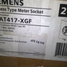 Siemens Suat417-xgf 200-amp Overhead Or Underground Feed Meter Socket With Ring