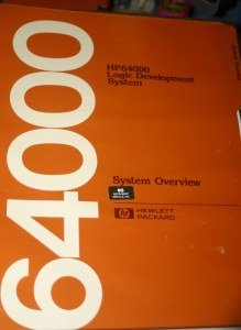 HP 64000 Logic Development system overview Manual 64980-90912