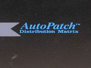 AMX AutoPatch 4YDMA Audio Matrix Switcher 24x20 4YDM