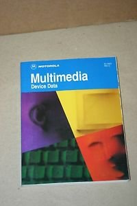 Motorola Multimedia Device Data Datasheet Catalog IC  Guide Manual dl158/d