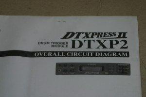 Yamaha DTXP2 DTXPRESS Drum Trigger Module Overall Circuit Diagram
