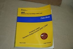 TI Texas Instruments AVC low volt CMOS Logic Products Data Book 2000 SCED008B