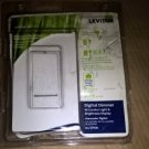 LEVITON VP106-1LW Digital Push On/Off Dimmer,600 Watts White R22-vPI06-1LW