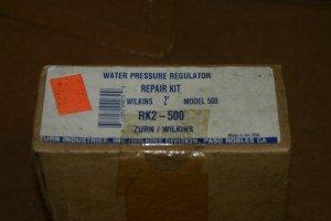 """Zurn/Wilkins RK2-500 2"""" model 500 Water Pressure Regulator Kit factory Sealed"""
