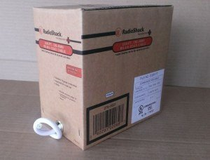 NEW Radioshack 100-FT RG-6/U Coax Cable 278-023 Coaxial 18AWG White Shielded RG6