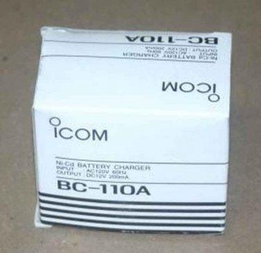 NIB OEM Geniuine iCOM BC-110A AC Adapter Charger Power Supply DC PSU NEW 167SA