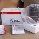 NEW Canon EF 75-300mm f/4-5.6 III Telephoto Zoom Lens