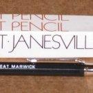 lot of 2 Vintage Peat Marwick Autopoint Mechanical Pencils KPMG Black Color
