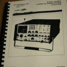 Motorola R-2001A/R-2002A Communications System Analyzer Service user Manual